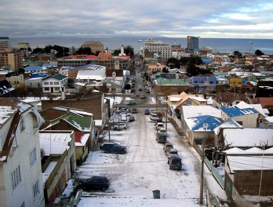 Punta Arenas en hiver